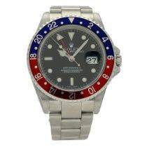 Rolex 16710 Staal 2002 GMT-Master II 40mm tweedehands