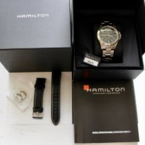 Hamilton Khaki Field King Steel 40mm Black Arabic numerals