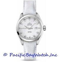 Omega Seamaster Aqua Terra Acier 34mm Blanc