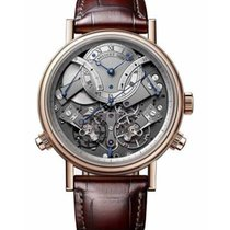 Breguet Tradition Rose gold 44mm Silver Roman numerals