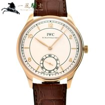 IWC Portuguese Hand-Wound Rose gold 44mm Silver