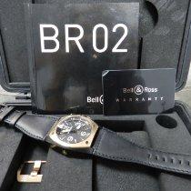 Bell & Ross Acero 44mm Automático BR 02-92 usados