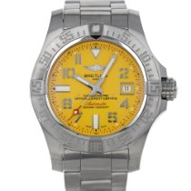 Breitling Avenger II Seawolf Steel 45mm Yellow Arabic numerals United States of America, Maryland, Baltimore, MD