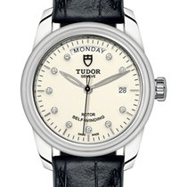Tudor Glamour Date-Day Steel 39mm White