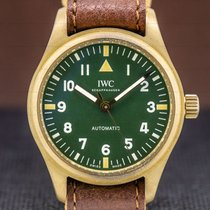 IWC Pilot's Watch Automatic 36 36mm Green Arabic numerals United States of America, Massachusetts, Boston
