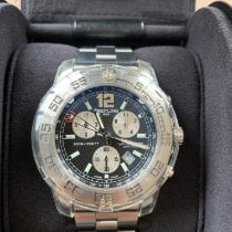 Breitling Colt Chronograph II Acero 44mm Negro Sin cifras