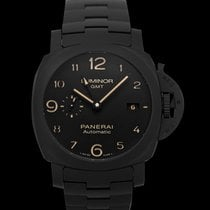 Panerai Luminor 1950 3 Days GMT Automatic Ceramic 44mm Black United States of America, California, Burlingame