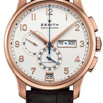 Zenith Rose gold Automatic Arabic numerals 42mm new El Primero Winsor Annual Calendar
