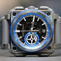Bell & Ross Titanium 45mm Automatic BRX1-AL-TI-BLU pre-owned
