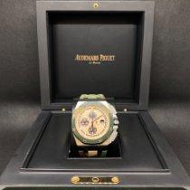 Audemars Piguet Royal Oak Offshore Chronograph Steel 44mm Champagne No numerals