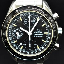 Omega 3520.50.00 Steel 1996 Speedmaster Day Date 39mm pre-owned
