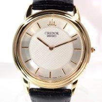 Seiko Credor Or jaune 34mm Argent