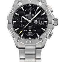 TAG Heuer Aquaracer 300M CAY2110.BA0927 - TAG HEUER AUTOMATIC CHRONO STEEL WATCH new