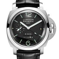 Panerai Luminor 1950 GMT Stainless Steel Men`s Watch