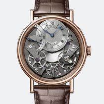 Breguet Tradition Rose gold 40mm Silver Roman numerals