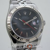Rolex Perpetual Datejust Turn-O-Graph 116264 Gray Rolex Carte + +