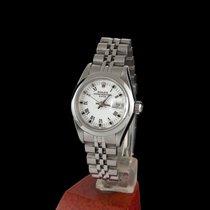 Rolex Oyster Perpetual Lady Date Acero 26mm Blanco Romanos España, MADRID