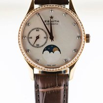 Zenith Elite Ultra Thin Rose gold Mother of pearl