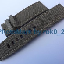 IWC Big Pilot Strap 22mm Nylon Green / Gray Watch Strap Band 22mm