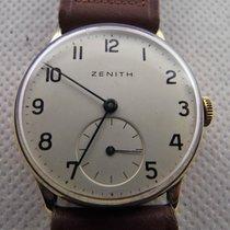 Zenith manuale anni '50 oro 750