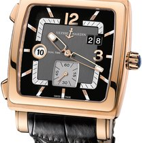 Ulysse Nardin Quadrato Dual Time Rose gold 42mm United States of America, New York, Airmont