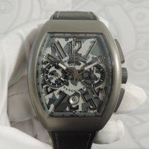 Franck Muller Chronograph 53,7mm Automatic 2018 new Vanguard Grey