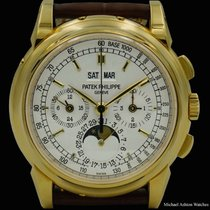 Patek Philippe Perpetual Calendar Chronograph Yellow gold 40mm United States of America, New York, New York
