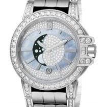 Harry Winston new Quartz 36mm White gold