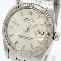 Rolex Datejust Ref.:1601 v. 1976 WG Lünette Rolex Service 6/2018