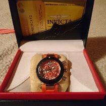 Invicta Chronometer 45mm Quarz 2015 neu Schwarz