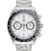 欧米茄  Speedmaster Master Chronometer Chronograph White Steel 44.25