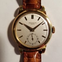 Patek Philippe Pink Gold Calatrava with Rare Scrolled Lugs,...