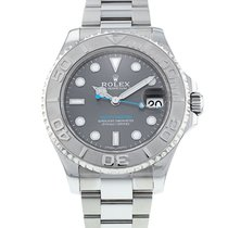 Rolex Yacht-Master 37 pre-owned 37mm Platinum