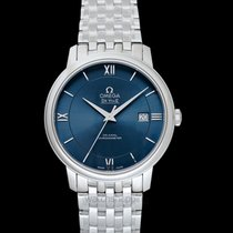 Omega De Ville Prestige Steel 39.5mm Blue United States of America, California, San Mateo