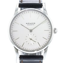 NOMOS Orion 33 Steel 32.8mm White United States of America, Georgia, Atlanta