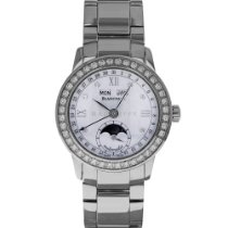 Blancpain Léman Moonphase Steel 34mm Mother of pearl United States of America, Maryland, Baltimore, MD