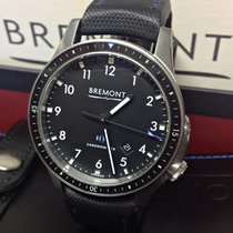 Bremont BB1-SS/BK Steel 2018 Boeing 43mm pre-owned