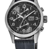 Oris Big Crown ProPilot Chronograph Steel Arabic numerals United States of America, New York, Brooklyn