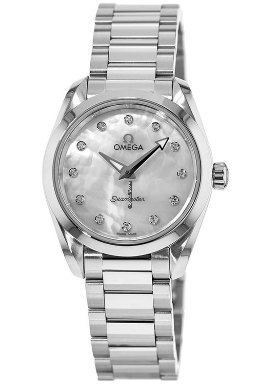 403a074f4c66 Omega Seamaster Aqua Terra 150M Quartz 28 MM Mother of Pearl... for AU$  3,803 for sale from a Trusted Seller on Chrono24