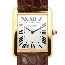 Cartier Tank Solo new Quartz Watch with original box and original papers W5200025