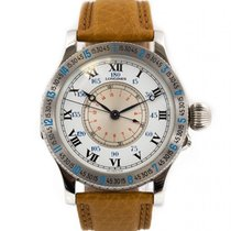Longines Lindbergh Hour Angle new 1992 Automatic Watch with original box and original papers 876.5238