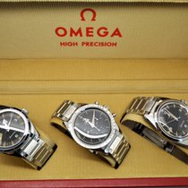 Omega Speedmaster Acero 38.6mm Negro