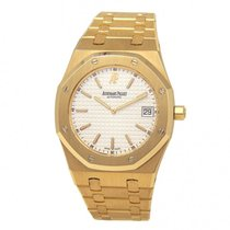 Audemars Piguet Royal Oak Jumbo Yellow gold 39mm White United States of America, New York, New York