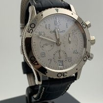 Breguet White gold Automatic Silver Arabic numerals 40mm pre-owned Type XX - XXI - XXII