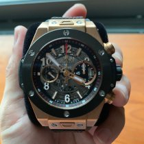 Hublot Rose gold 45mm Automatic 411.OM.1180.RX pre-owned Singapore, singapore
