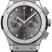 Hublot Classic Fusion Chronograph Titanium 42mm Grey No numerals United States of America, Florida, Sunny Isles Beach