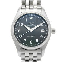 IWC Pilot's Watch Automatic 36 Steel 36mm Black Arabic numerals United States of America, New York, New York