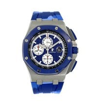 Audemars Piguet Royal Oak Offshore Chronograph Steel 44mm Blue United States of America, New York, New York