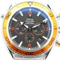 Omega 2218.50.00 Steel Seamaster Planet Ocean Chronograph 45.5mm pre-owned