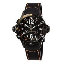 Hamilton Khaki Aviation nouveau Quartz Chronographe Montre avec coffret d'origine et papiers d'origine H74592333